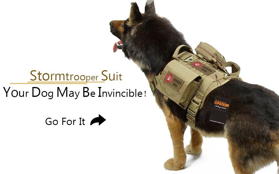 Dog Vest Suit Pouches Medical Bags Dog Vests Dog Clothes Dogs