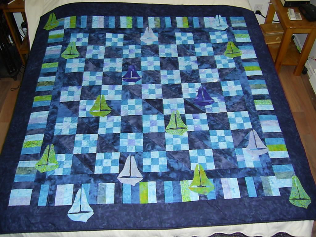 Baby Quilt Patterns For Boy : Very Easy Quilt Patterns Need a Boys Quilt pattern - something VERY unusual...but cute - Page ...