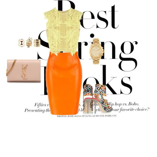 """""""Best Spríng Lookš!¡"""" """"Besţ Spřinğ Look's¡!"""" It's nothing wrong with some color! Play around w. these daring colors to bring off a bold new look."""