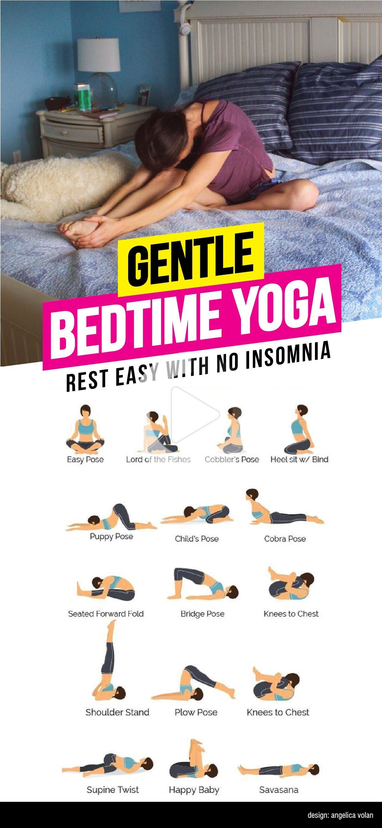 Gentle Bedtime Yoga | How To De-Stress & Sleep Deeply