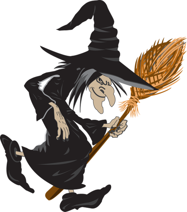 30+ Halloween witch images clipart info