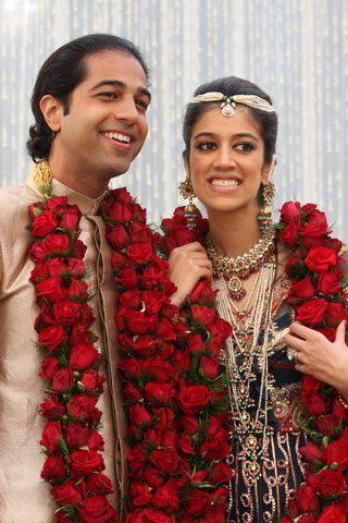 So Yes Mr Dd And I Are Exchanging Indian Floral Garlands At Our Wedding Although Sadly Ours Indian Wedding Garland Purple Wedding Flowers Garland Wedding