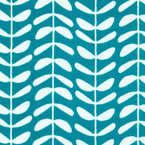 133513 Vines | Teal {canvas} Canvas from Yoyogi Park by Skinny laMinx for Cloud9 Fabrics