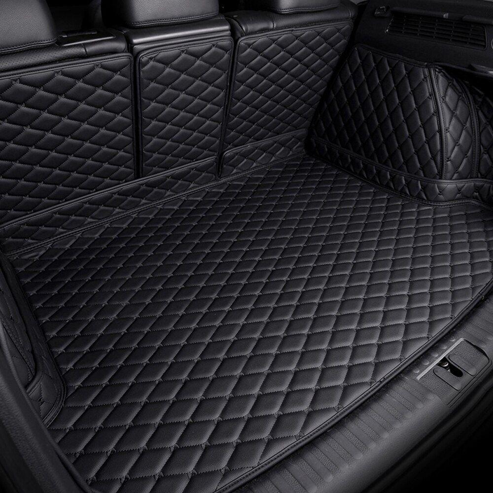 Custom 100 Fit Car Trunk Mats Specially For Audi Q5 6d Waterproof Foot Case Car Styling Rugs Good Carpet Lin Custom Car Interior New Car Accessories Car Trunk