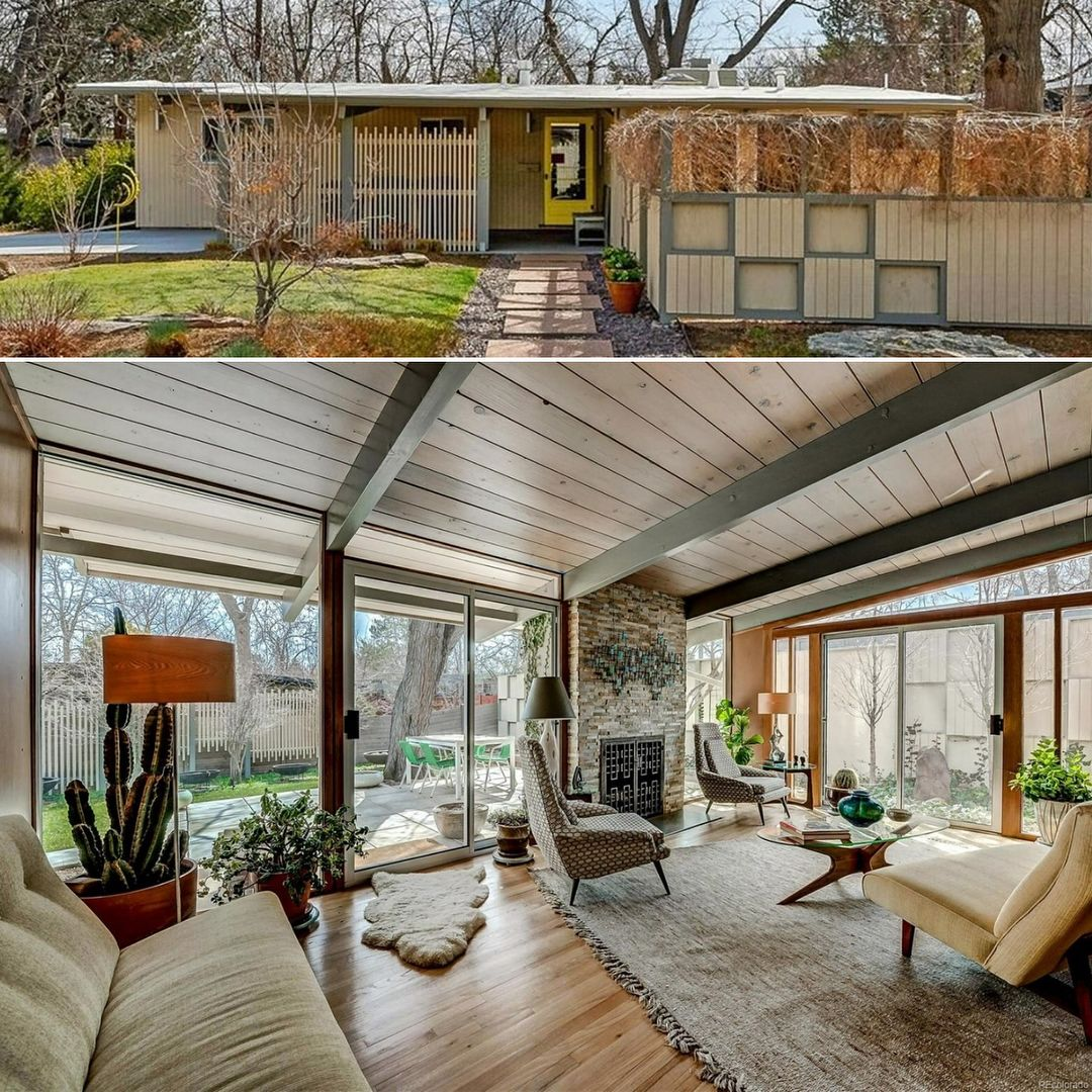 Very Nice House In One Of Denver S Historic Mid Century Modern