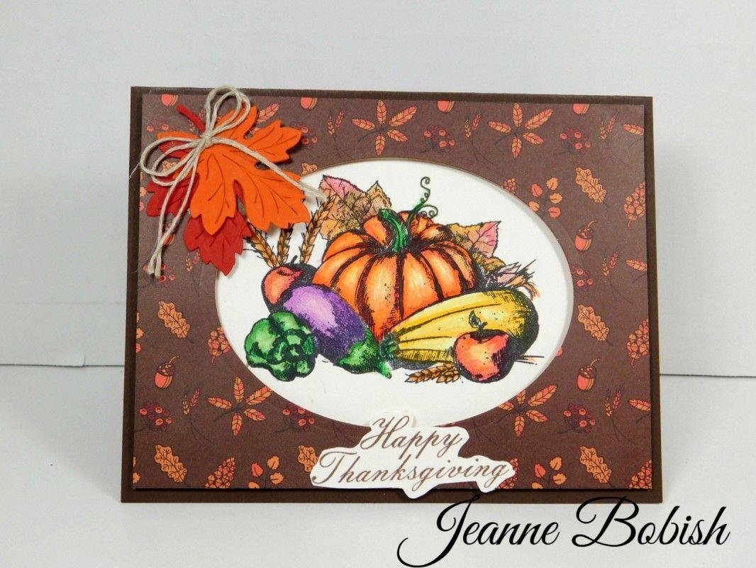 Happy Thanksgiving Card Version 2