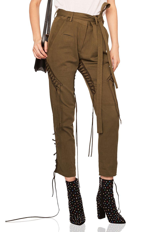 Cargo Laced Pants Saint Laurent s1EndGt4