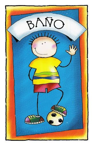 Recursos de educacion infantil carteles para el ba o i - Carteles para banos ...