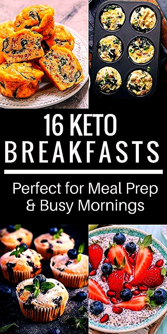 Easy Keto Breakfast Recipes Perfect for Meal Prep  Busy Mornings 16 Easy Keto Breakfast Recipes Perfect for Meal Prep  Busy Mornings  These low carb crispy cheese balls a...