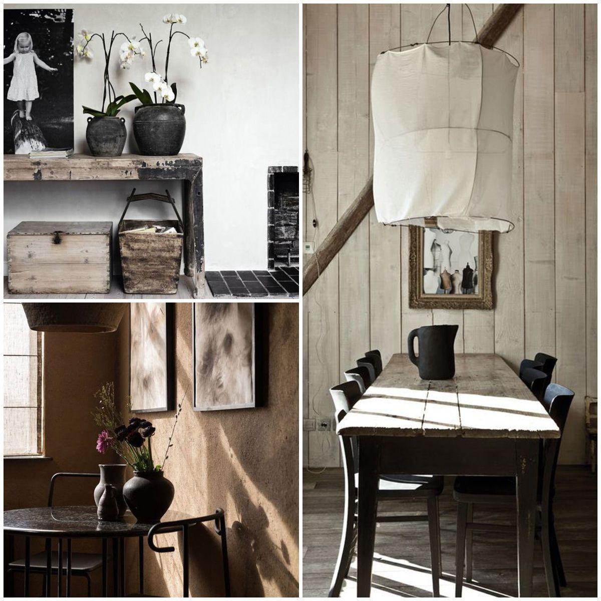 En los interiores inspirados por el Wabi-Sabi, las estancias no se ...