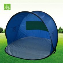 e85413d1acab  Outdoor Sports  UV Protection OEM Outdoor Automatic Fishing Wind Pop Up Beach  tent Sun Shelter