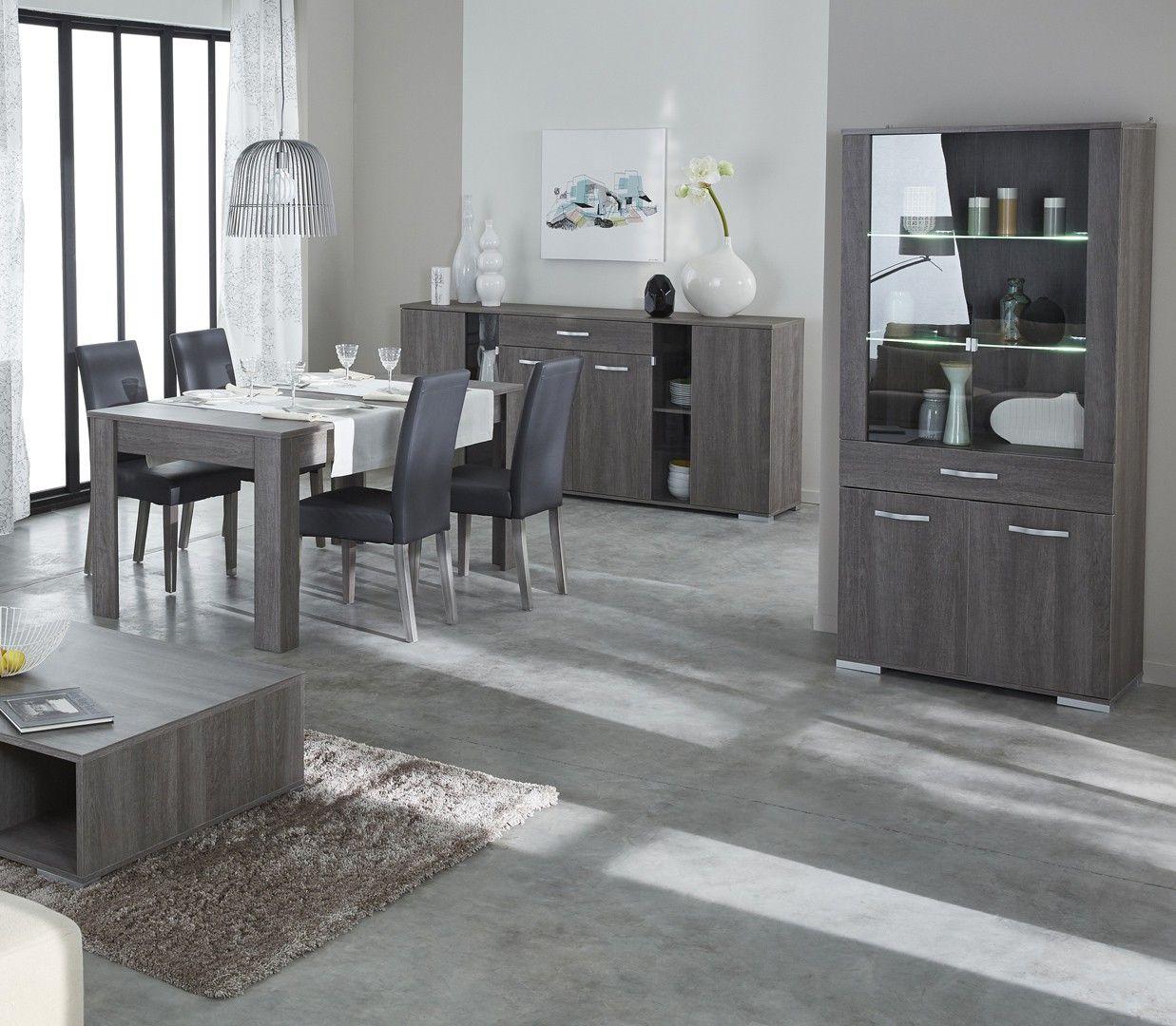 Salle à manger contemporaine chêne foncé Murano | House