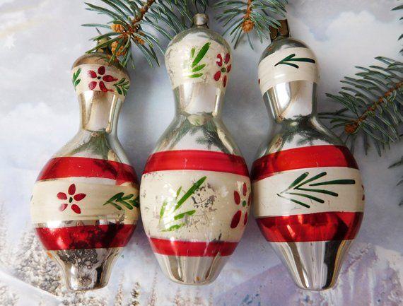 Vintage Christmas Ornament Ornaments