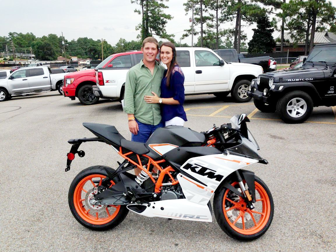 thanks to the breakfields from columbia ms for getting a 2015 ktm