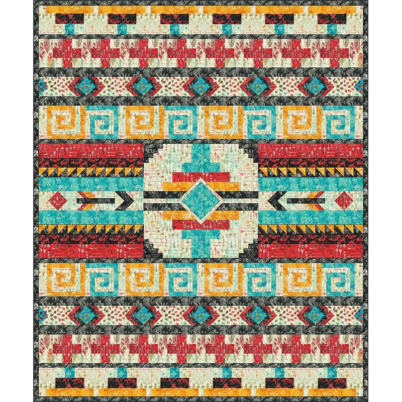 Free Pattern Colors Of The Wind Quilt Anthology Fabrics February 2019 Quilts Quilt Patterns Southwest Quilts