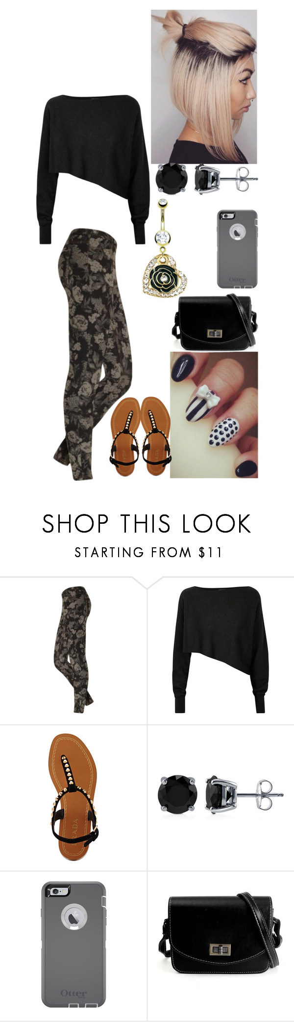 """""""Untitled #2329"""" by alize-roshaun-sims ❤ liked on Polyvore featuring Hue, Crea Concept, Prada, BERRICLE and OtterBox"""