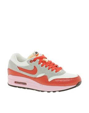 cheap for discount bfab2 f7530 Nike Air Max 1 ND GreyWhiteRed Trainers