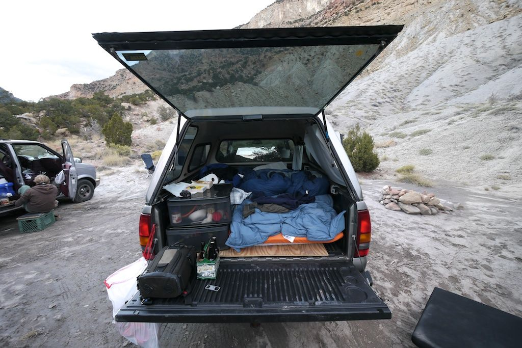 Life on the Road Savage Films Truck bed camping