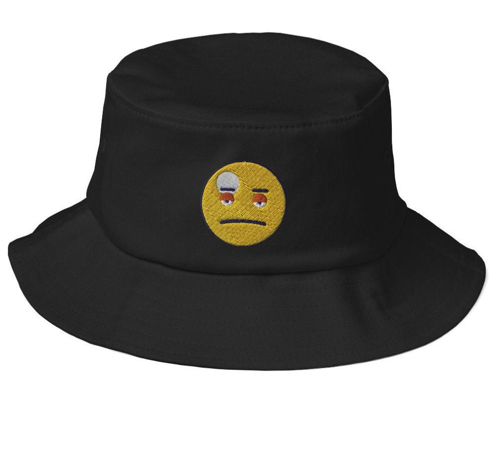 Streetwear Bucket Hat Hypebeast Wear Festival Hat Trippy Rave Hat Rave Hats Festival Hat Mens Bucket Hats