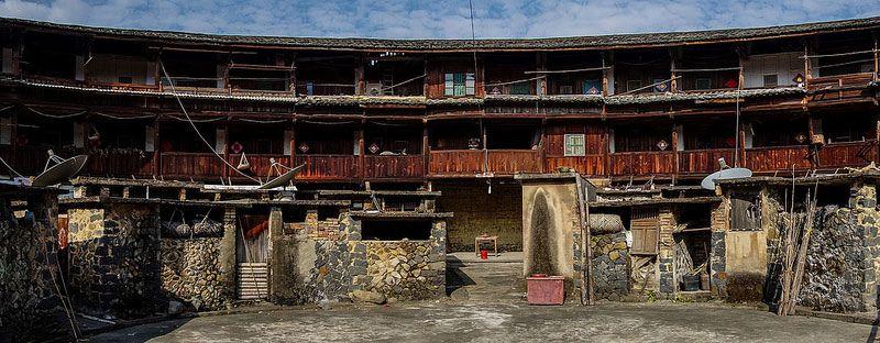 Hakka Tulou traditional Chinese Dwelling photo