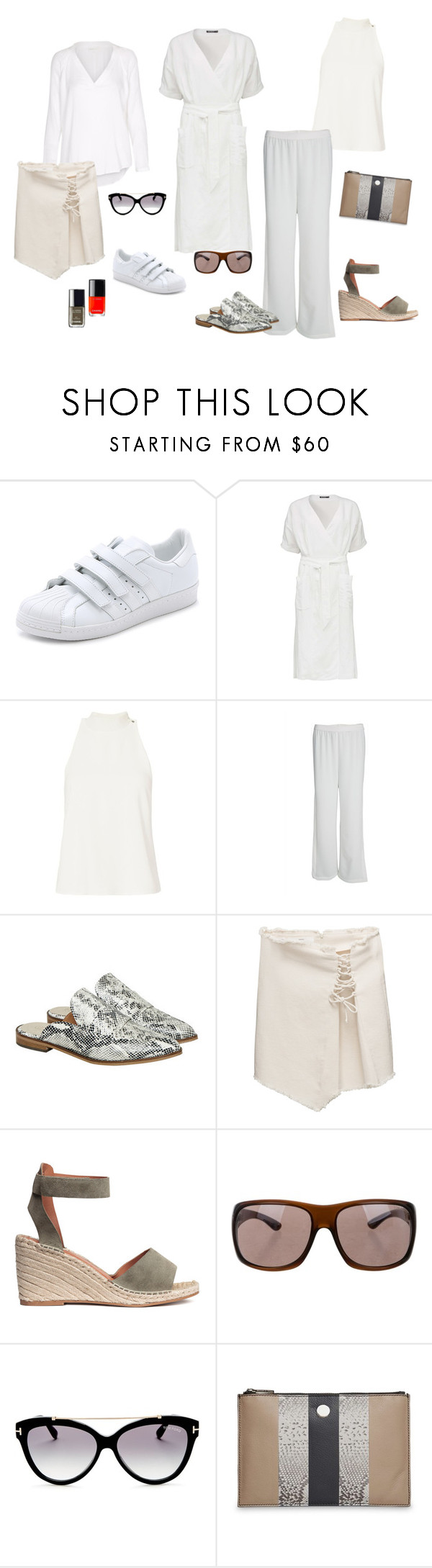 """""""Lækre sommeroutfits"""" by frederikke-e on Polyvore featuring adidas, A.L.C., Designers Remix, Gestuz, Tom Ford and Chanel"""