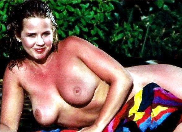 Women and boy beach naked