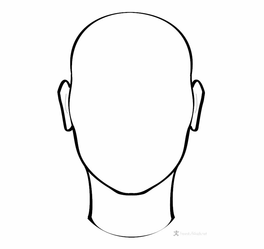 Blank Face Png Image Face Outline Drawing Transparent Png Image For Free Download Explore More High Quality Free Png Images On Trzcacak Rs