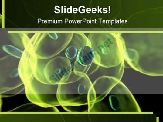 cells science powerpoint template 0810 powerpoint templates