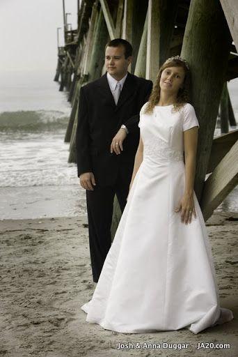 What A Beautiful Shot Modest Bridal Gowns Duggar Wedding Wedding Dresses