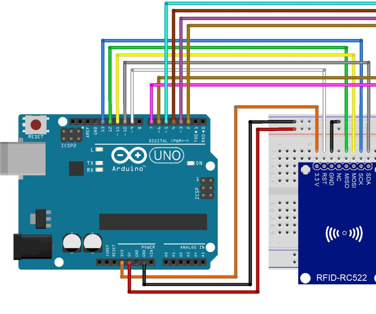 Arduino Rfid Read and Write on Lcd | Tech | Arduino, Arduino