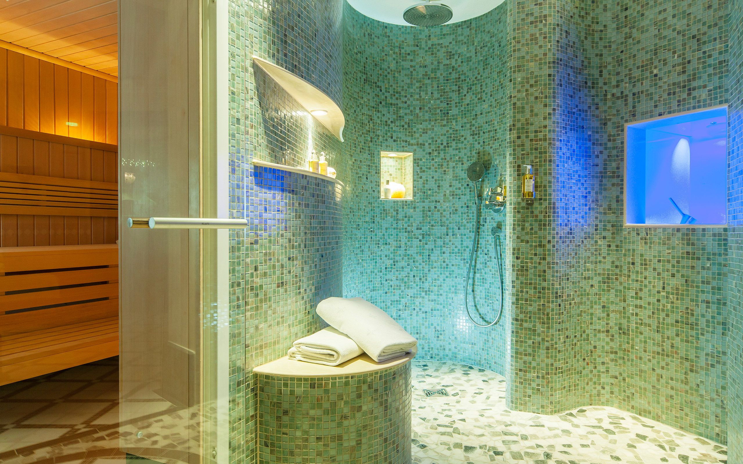 Althoff Seehotel Uberfahrt Spa Shower Modern Shower Home Spa