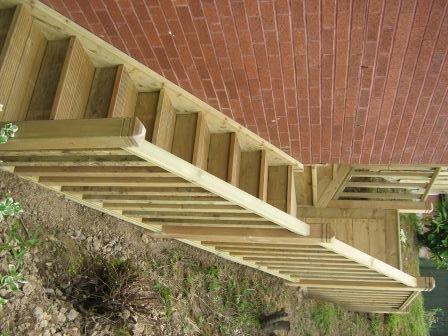 Wooden Steps For Garden
