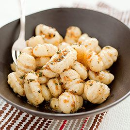 Potato Gnocchi with Browned Butter and Sage from America´s Test Kitchen