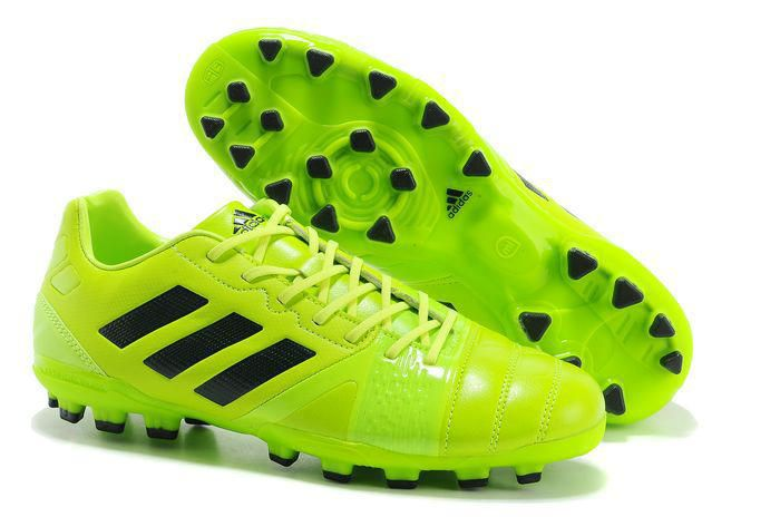 Nitrocharge 3.0 TRX AG Soccer Cleats Adidas Electricity Green Black