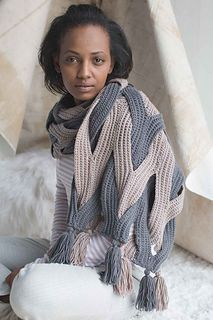 Indulgent Wrap pattern by Alla Koval