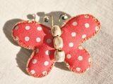 Butterfly brooch...