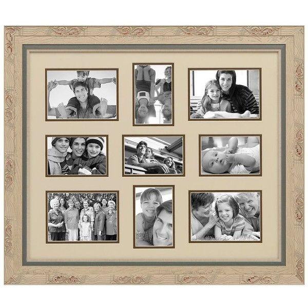 Caroline 9-Opening Collage Frame (40 CAD) ❤ liked on Polyvore ...