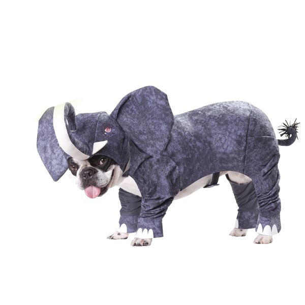 Elephant Costume For Dogs Pet Halloween Costumes Pet Costumes