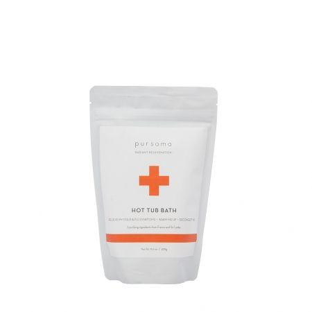 Pursoma Hot Tub Bath - International Orange