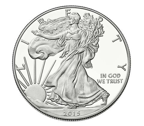The 2015 American Eagle One Ounce Silver Proof Coin Is More Than A Silver Dollar It S A Piece Of America Silver Bullion Coins American Silver Eagle Eagle Coin