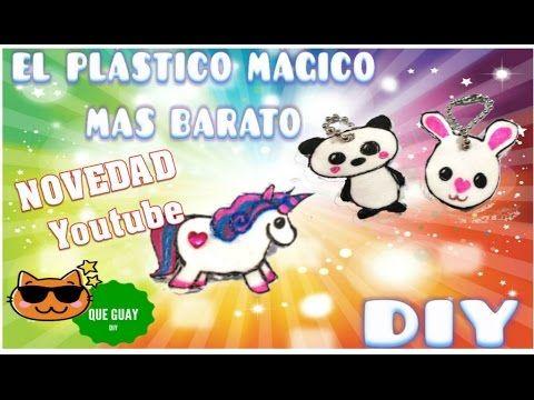 Como Hacer Plástico Encogible Mágico Casero Barato Y Fácil Icopor