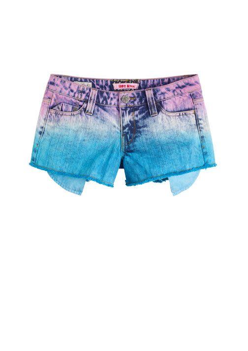 dELiAs > Multicolored Acid Wash Short > shorts > view all shorts