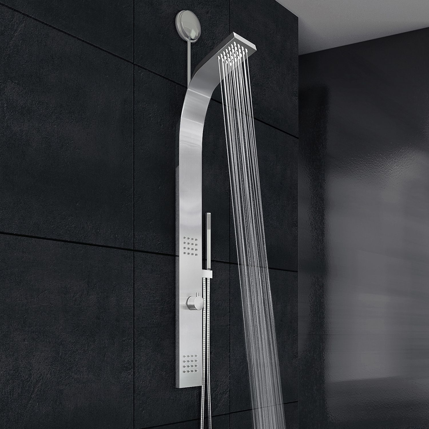 Vigo Retrofit Shower Panel System with Rain Shower Head (Vigo ...