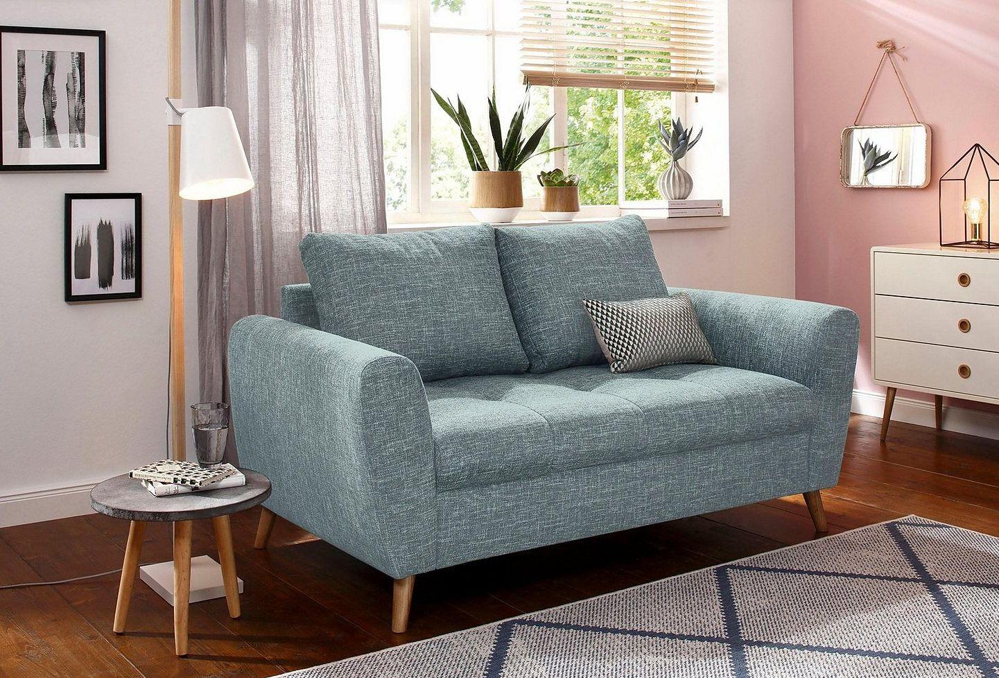 Home affaire 2-Sitzer »Penelope«, mit feiner Steppung im ...
