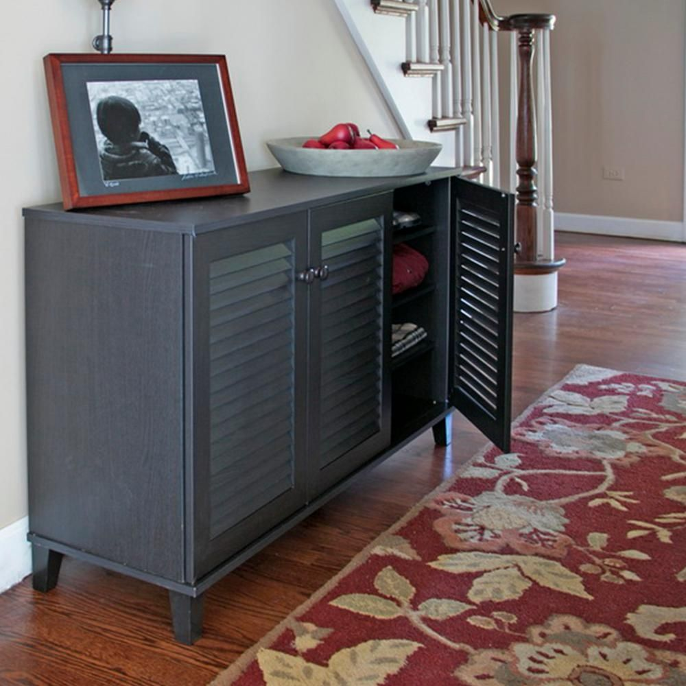 Dark Wood Shoe Storage Cabinet & Dark Wood Shoe Storage Cabinet | http:/ulgamaisweb.com ...