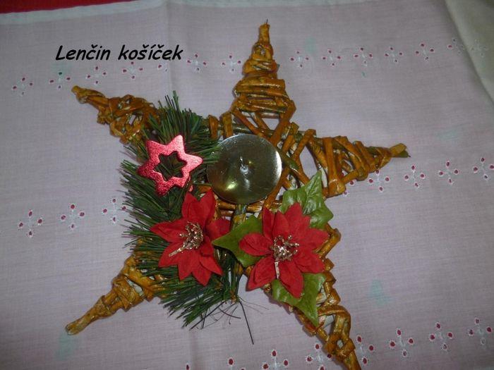 Estrella - palmatoria de Navidad