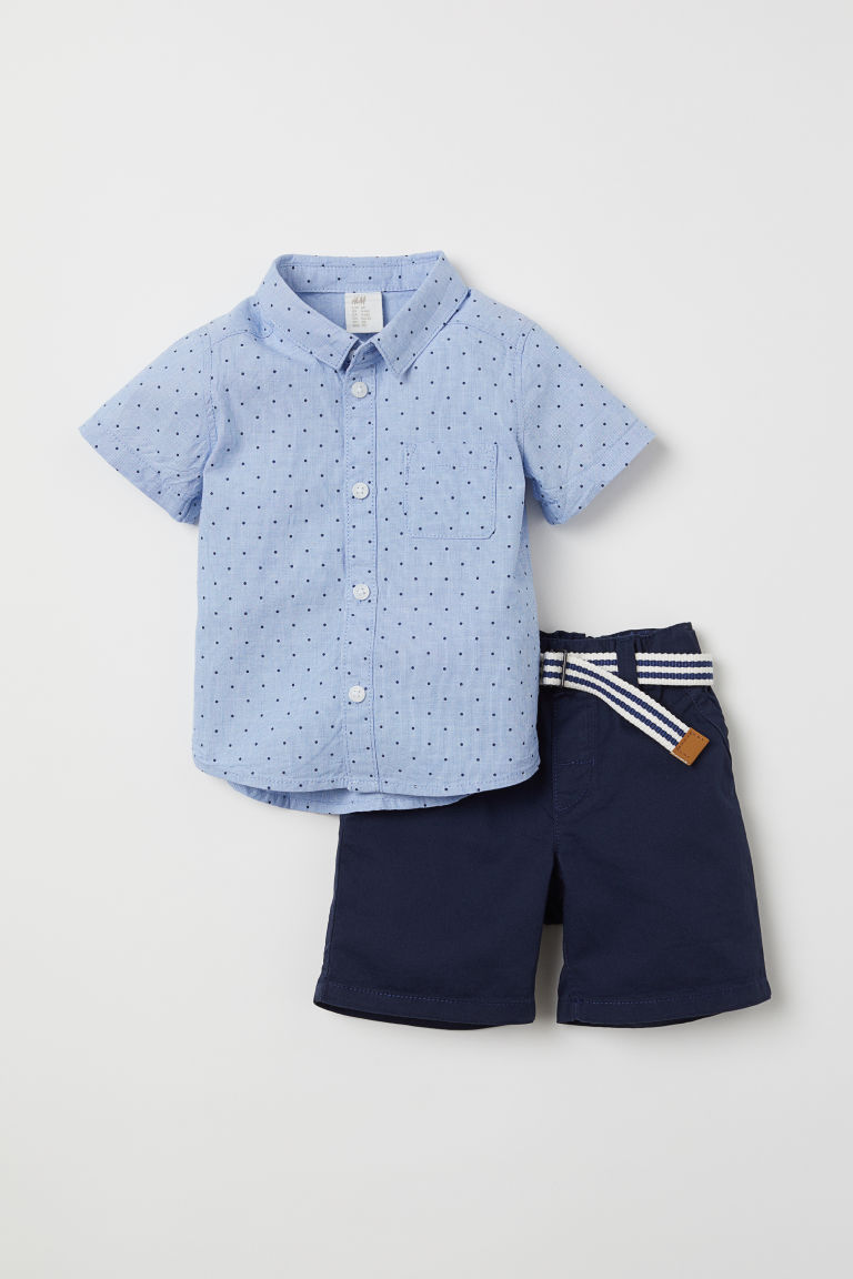 Baby babies boy boys outfit romper BLUE /& WHITE CARS SHORTS SHIRT 2 piece