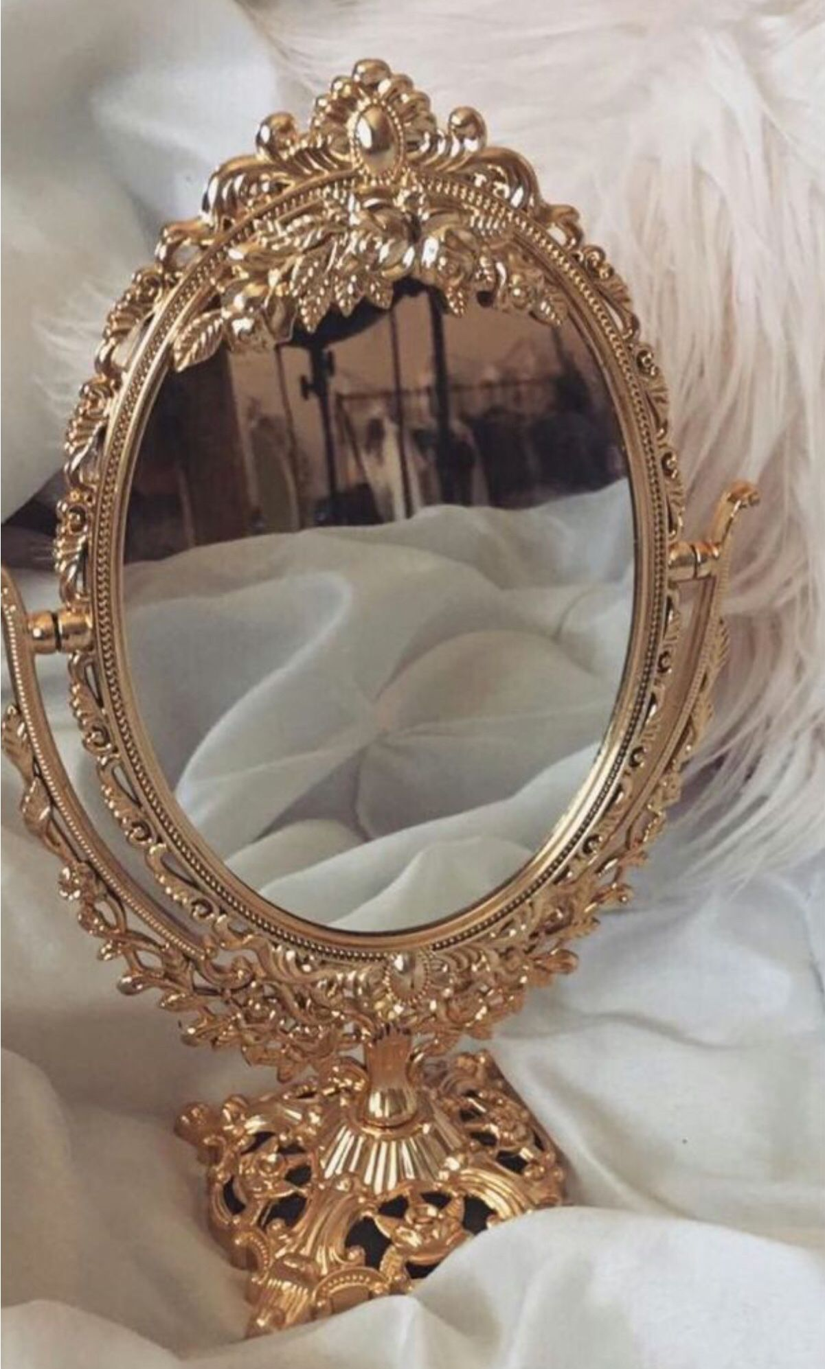 Mirror Mirror On The Wall Gold Aesthetic Beige Aesthetic Princess Aesthetic