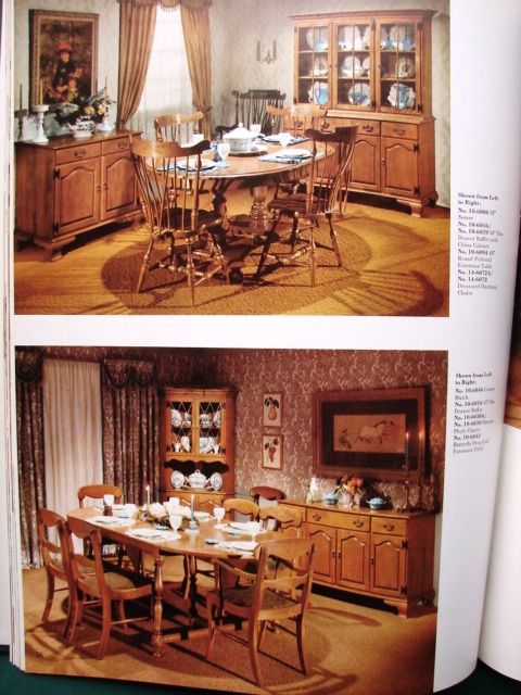 Ethan Allen Furniture Maple 1960 S 1960s Product Catalog Treasury