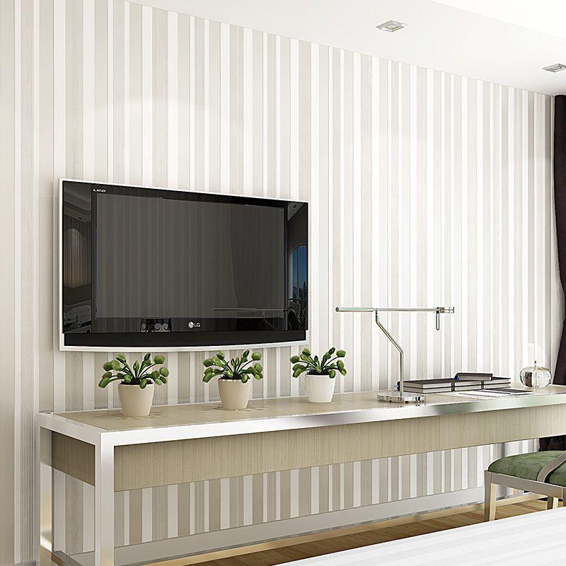 Classical 3d Modern Wallpaper Vertical Stripe Wallpapers